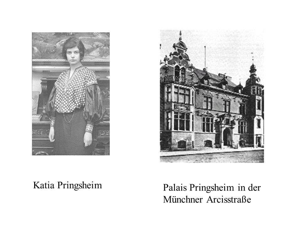 Katia Pringsheim Palais Pringsheim in der Münchner Arcisstraße