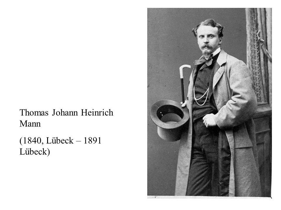 Thomas Johann Heinrich Mann