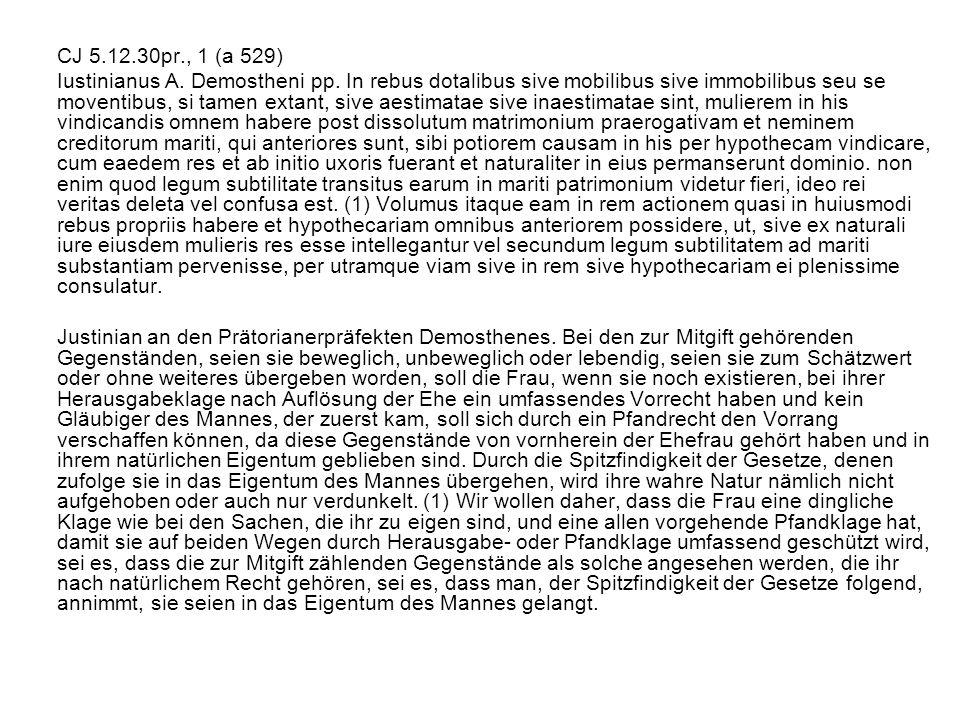 CJ 5.12.30pr., 1 (a 529)