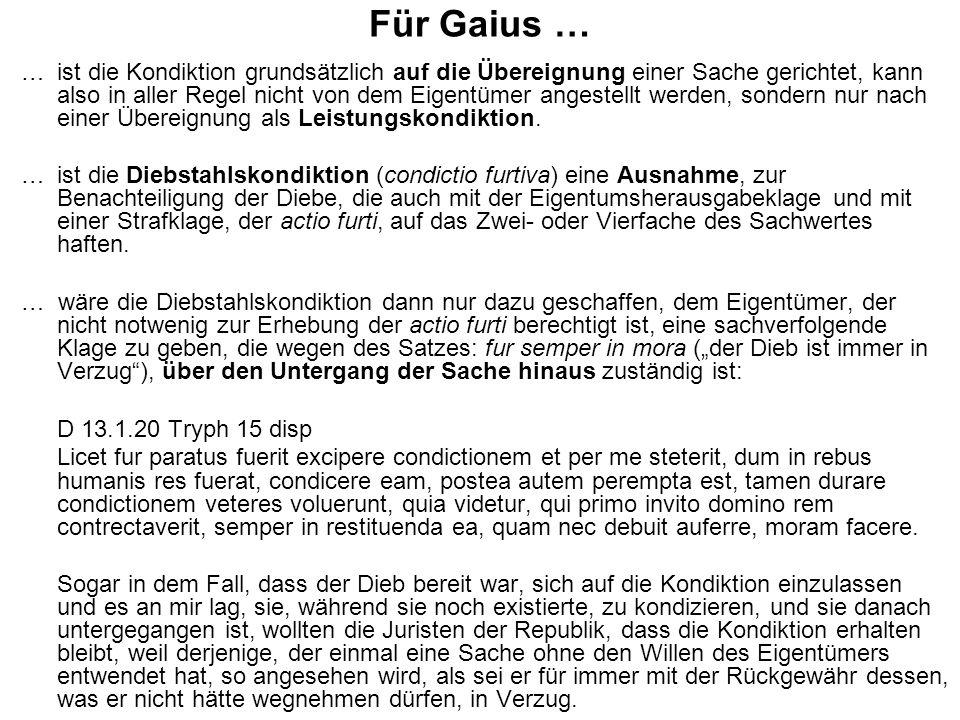 Für Gaius …