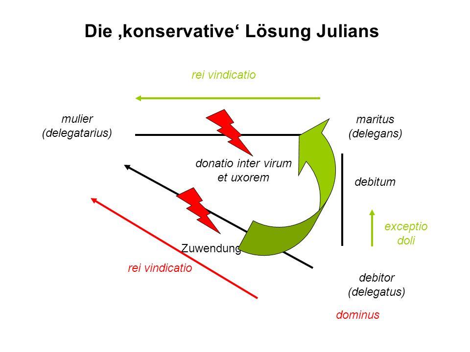 Die 'konservative' Lösung Julians
