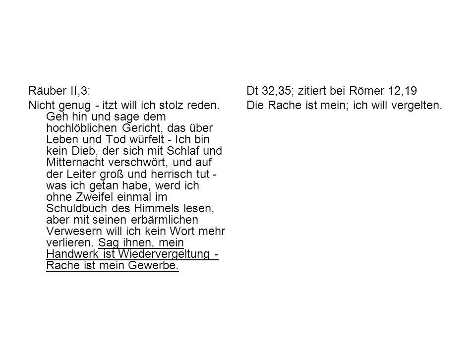 Räuber II,3: