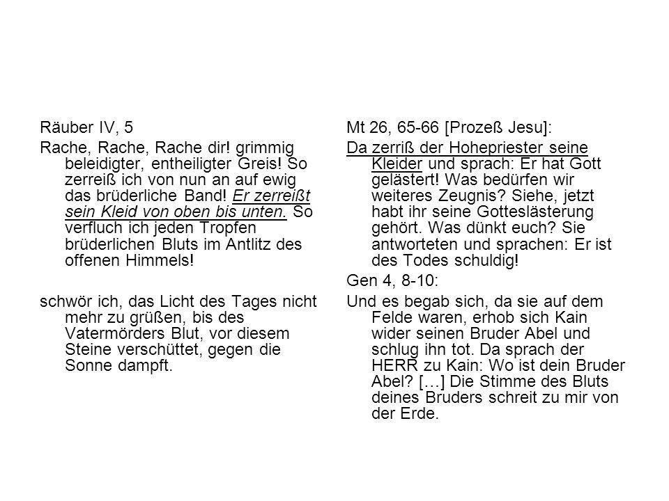 Räuber IV, 5