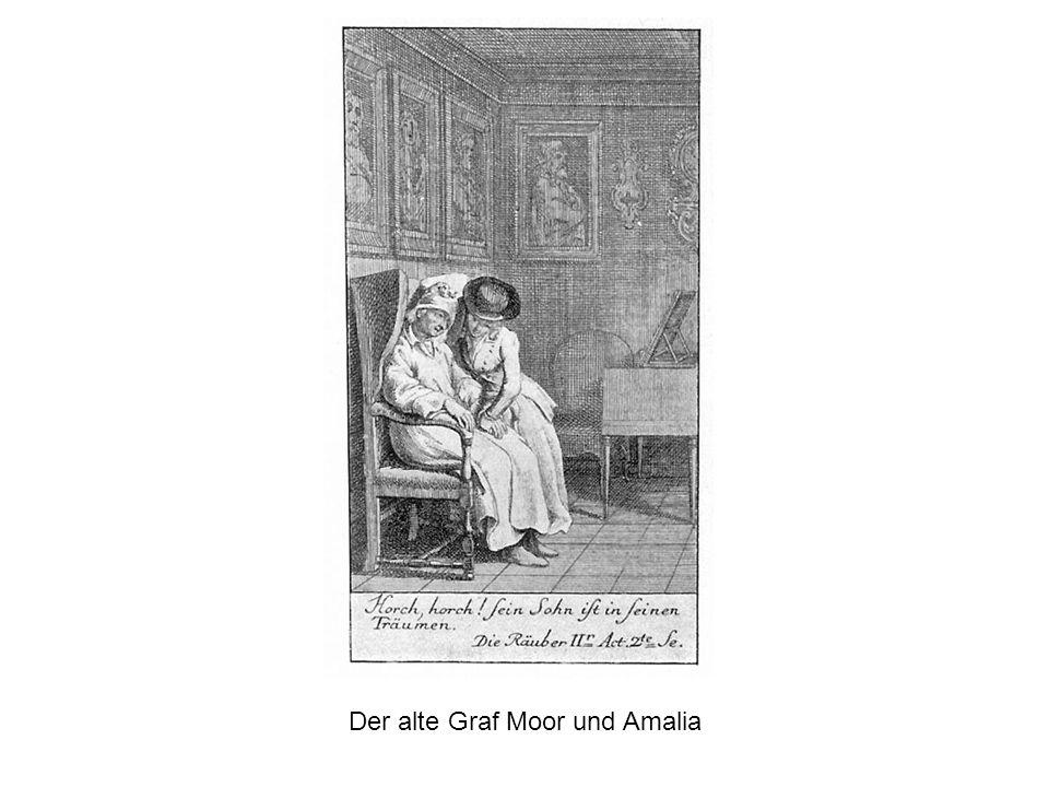 Der alte Graf Moor und Amalia