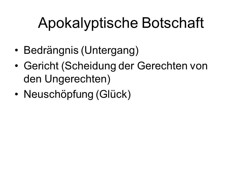 Apokalyptische Botschaft