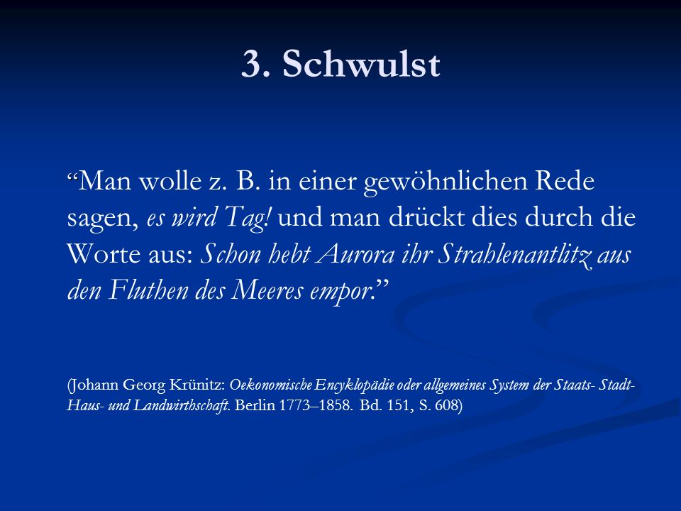 3. Schwulst