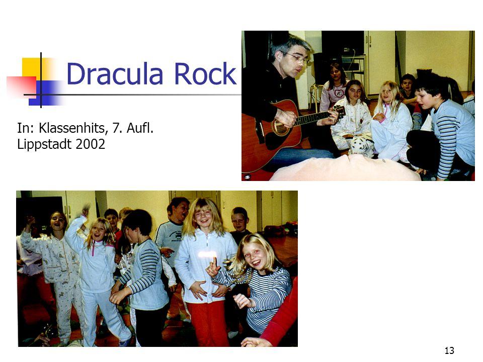 Dracula Rock In: Klassenhits, 7. Aufl. Lippstadt 2002