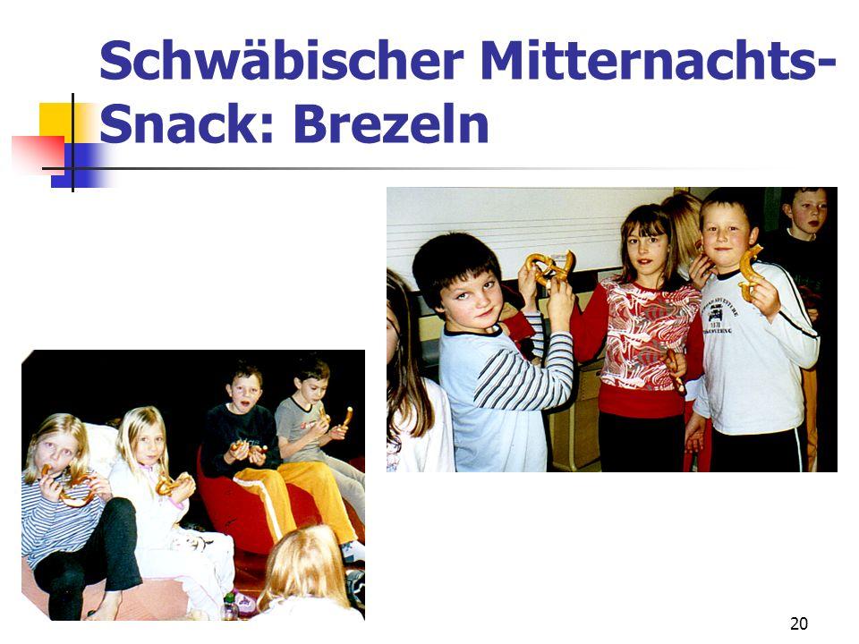Schwäbischer Mitternachts-Snack: Brezeln