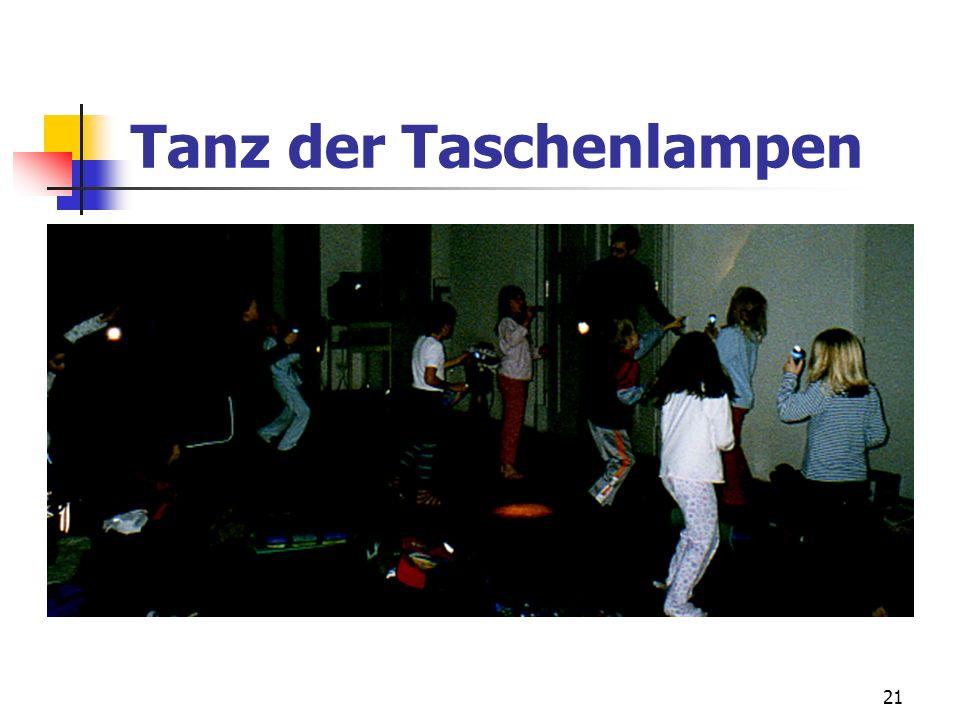 Tanz der Taschenlampen