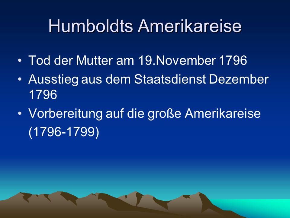 Humboldts Amerikareise