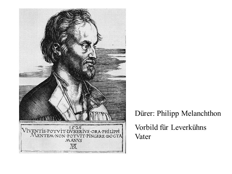Dürer: Philipp Melanchthon