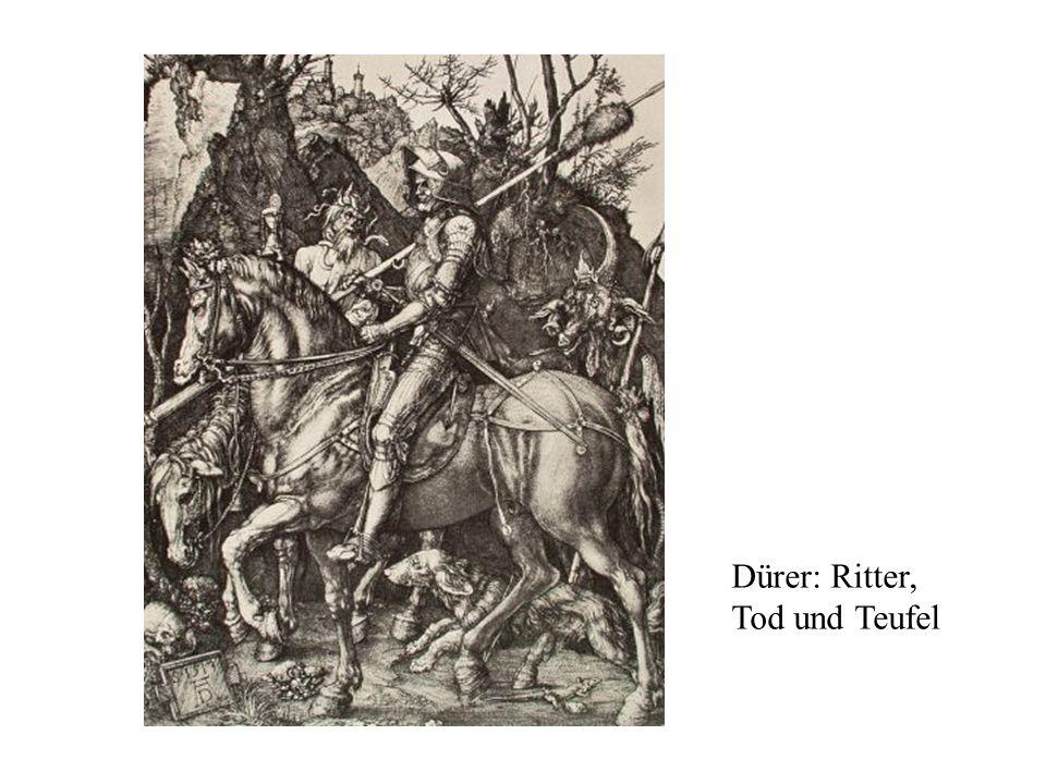Dürer: Ritter, Tod und Teufel