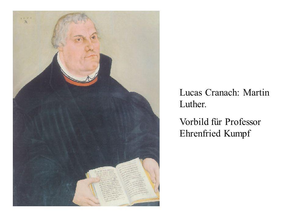 Lucas Cranach: Martin Luther.