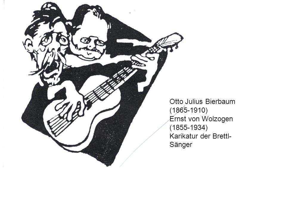 Otto Julius Bierbaum (1865-1910)