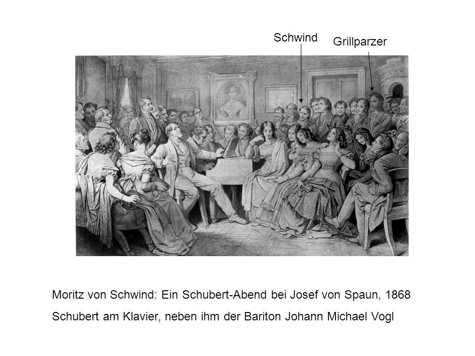 Moritz von Schwind: Ein Schubert-Abend bei Josef von Spaun, 1868