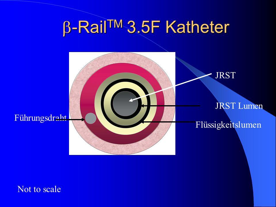 -RailTM 3.5F Katheter JRST JRST Lumen Führungsdraht Flüssigkeitslumen