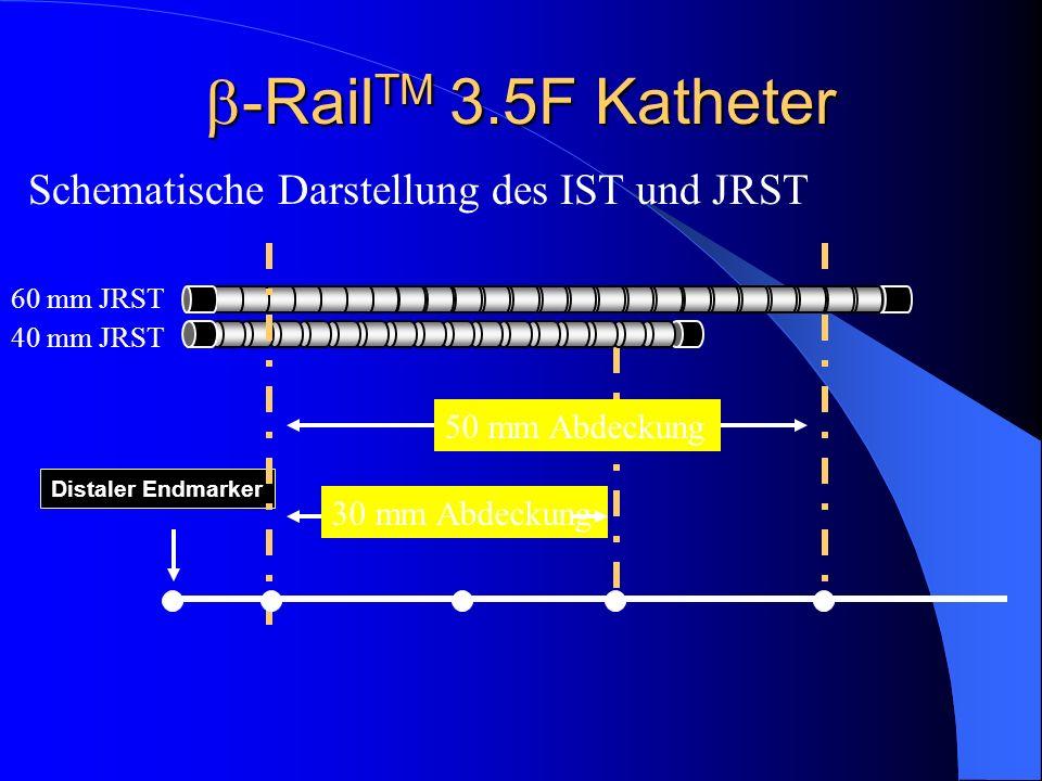 -RailTM 3.5F Katheter Schematische Darstellung des IST und JRST