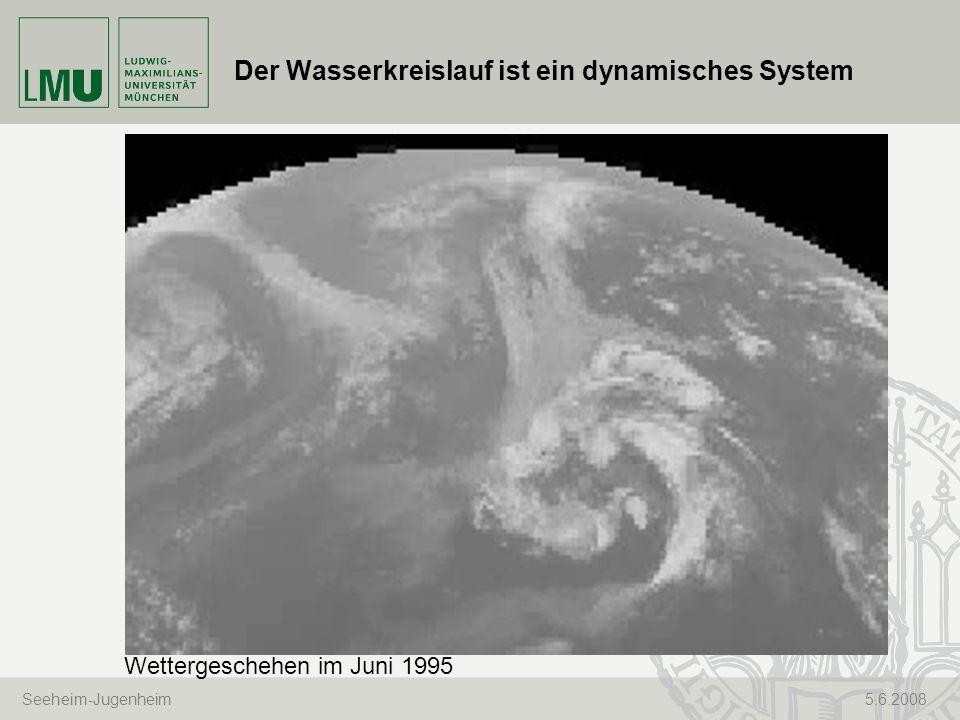 Der Wasserkreislauf ist ein dynamisches System