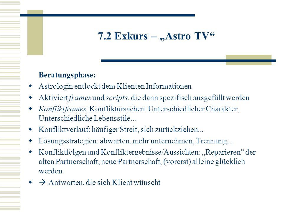 """7.2 Exkurs – """"Astro TV Beratungsphase:"""