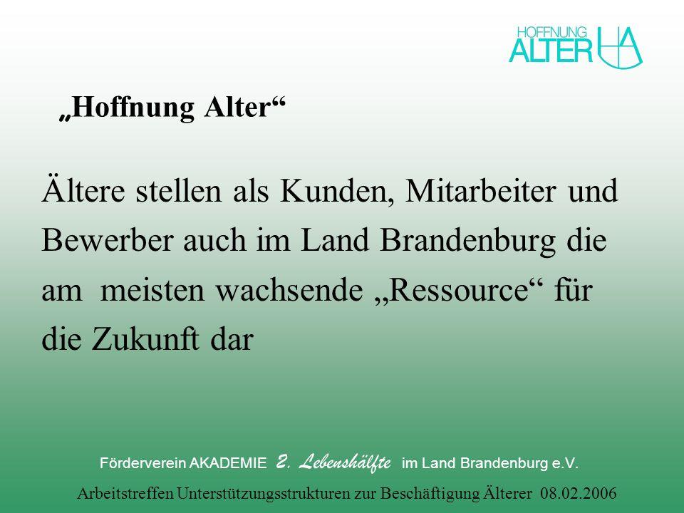 Förderverein AKADEMIE 2. Lebenshälfte im Land Brandenburg e.V.