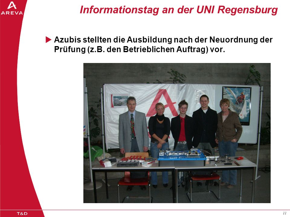 Informationstag an der UNI Regensburg