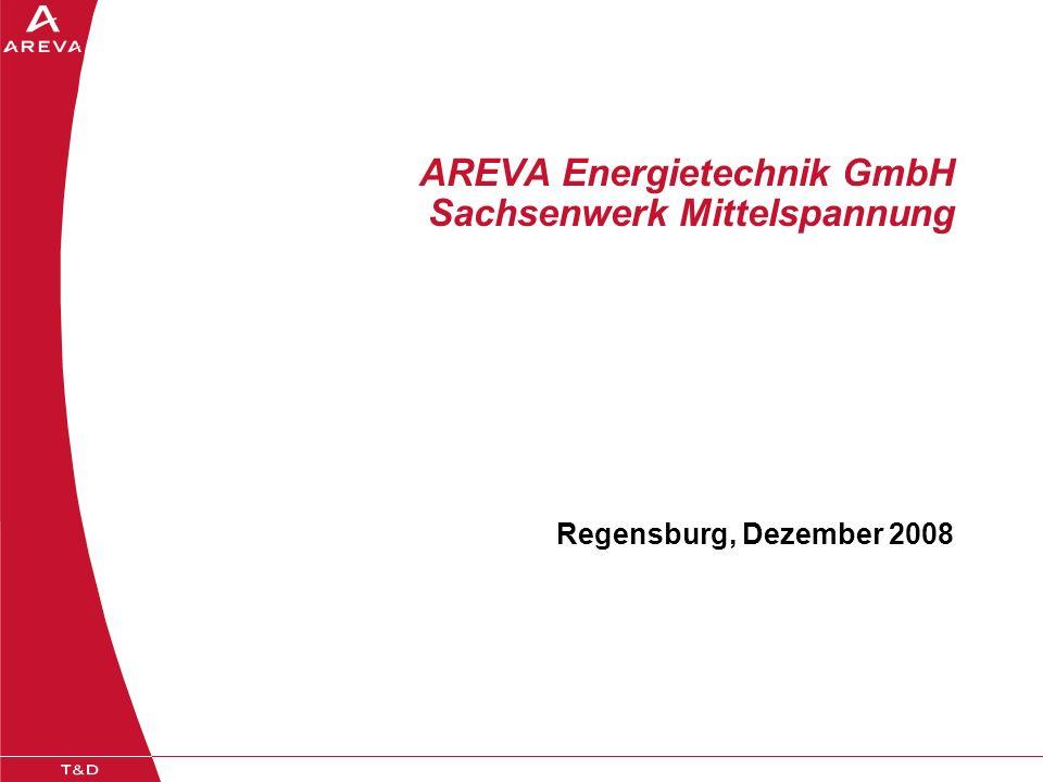 AREVA Energietechnik GmbH Sachsenwerk Mittelspannung