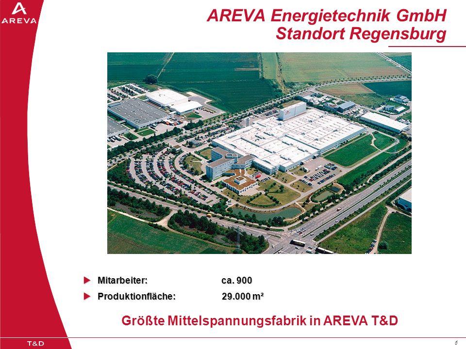 AREVA Energietechnik GmbH Standort Regensburg