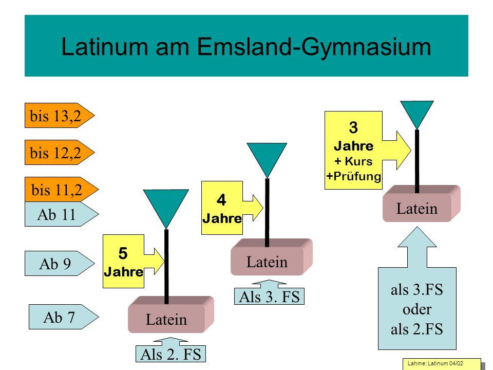 Latinum am Emsland-Gymnasium