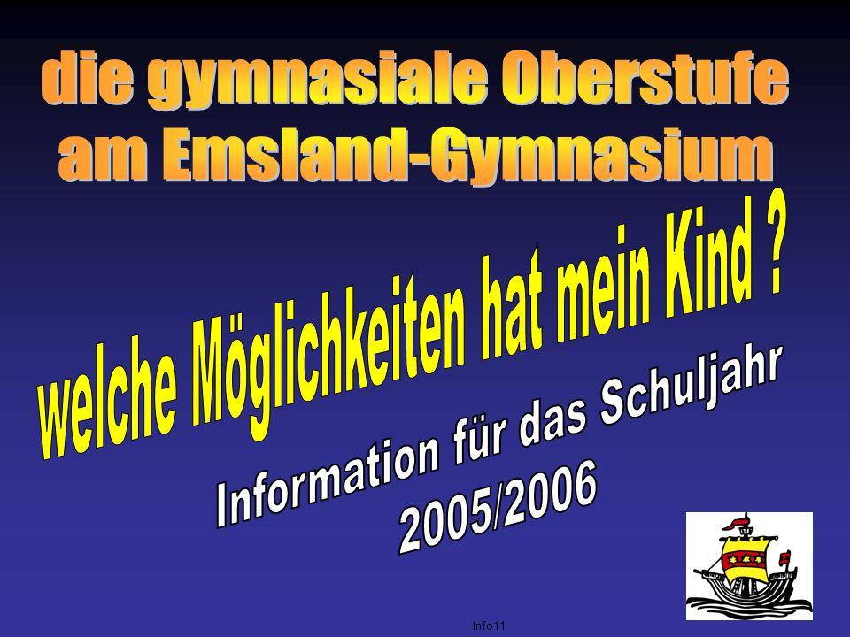 die gymnasiale Oberstufe am Emsland-Gymnasium