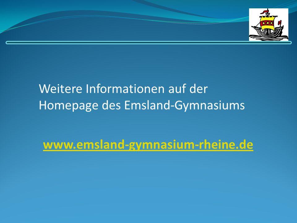 Weitere Informationen auf der Homepage des Emsland-Gymnasiums
