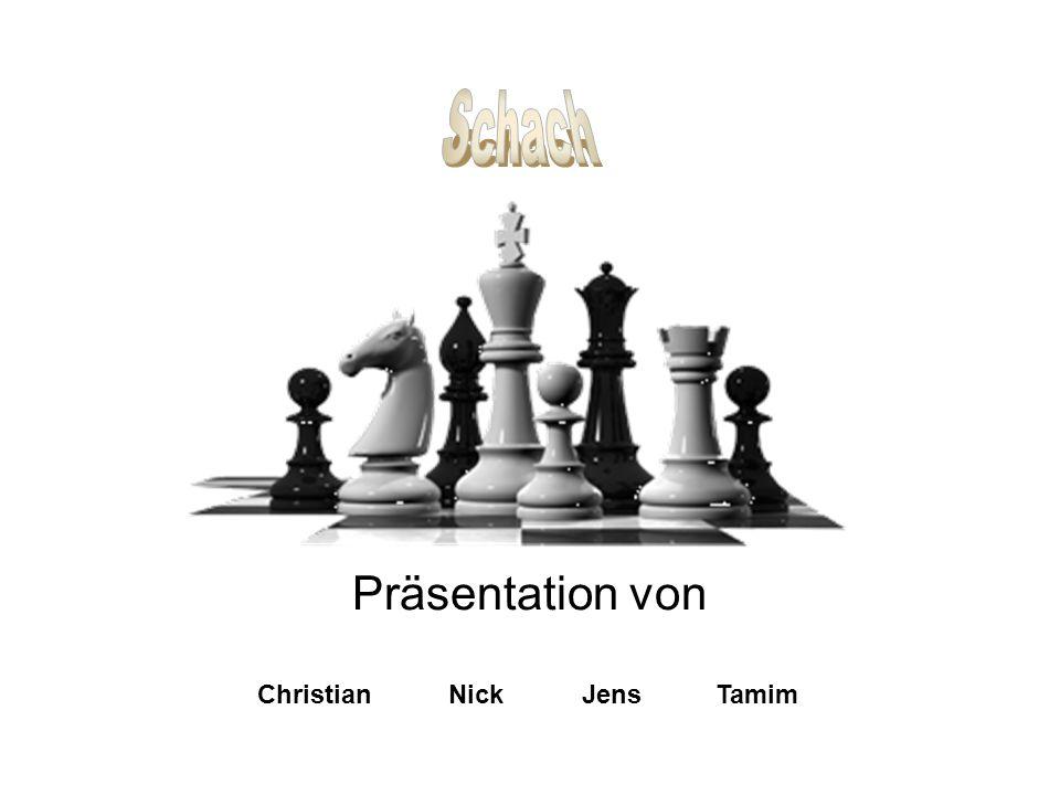 Schach Präsentation von Christian Nick Jens Tamim