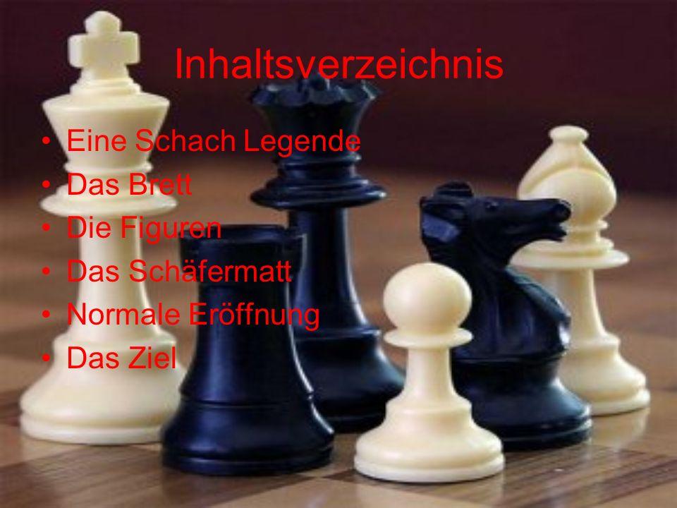 Inhaltsverzeichnis Eine Schach Legende Das Brett Die Figuren