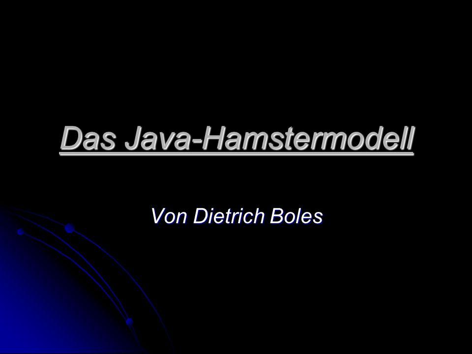 Das Java-Hamstermodell