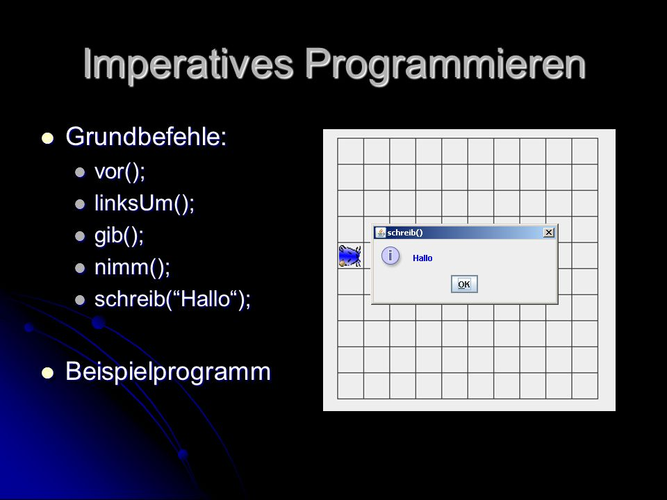 Imperatives Programmieren