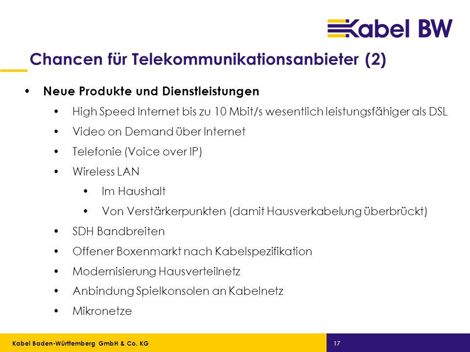Chancen für Telekommunikationsanbieter (2)