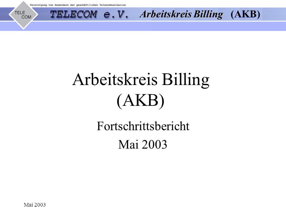 Arbeitskreis Billing (AKB)
