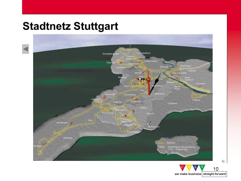 Stadtnetz Stuttgart Gründung: November 1998