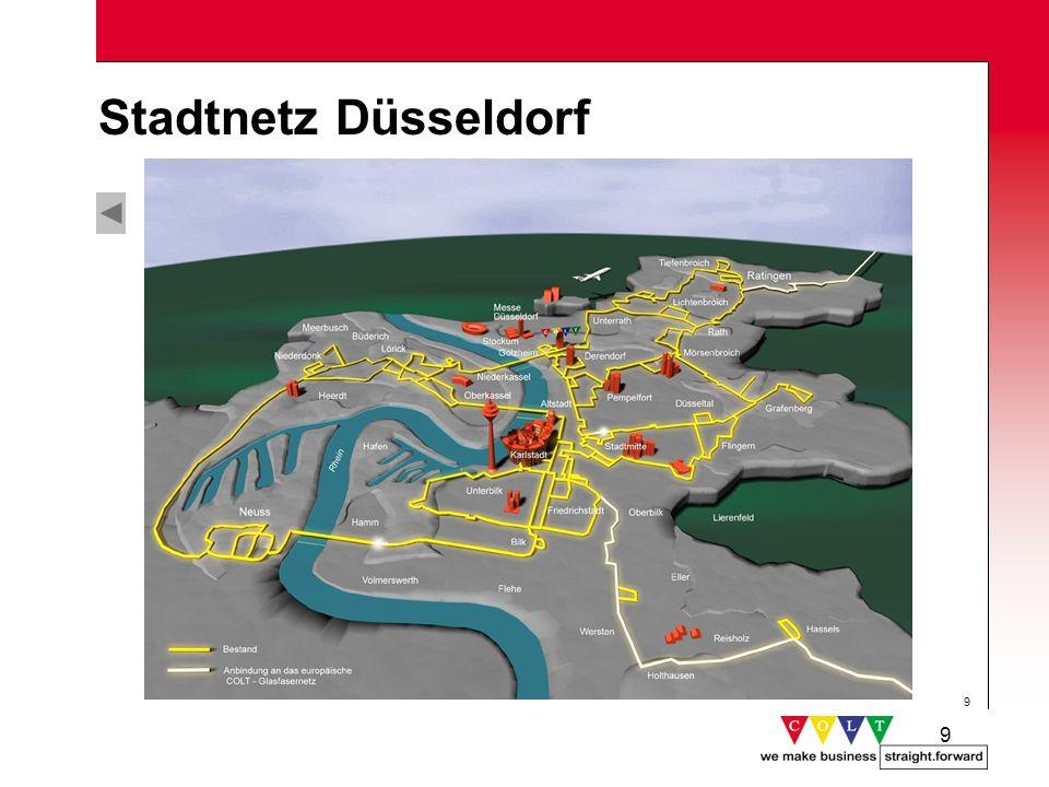 Stadtnetz Düsseldorf Gründung: Mai 1998