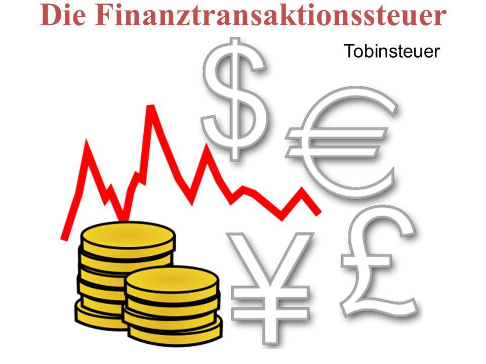 Die Finanztransaktionssteuer