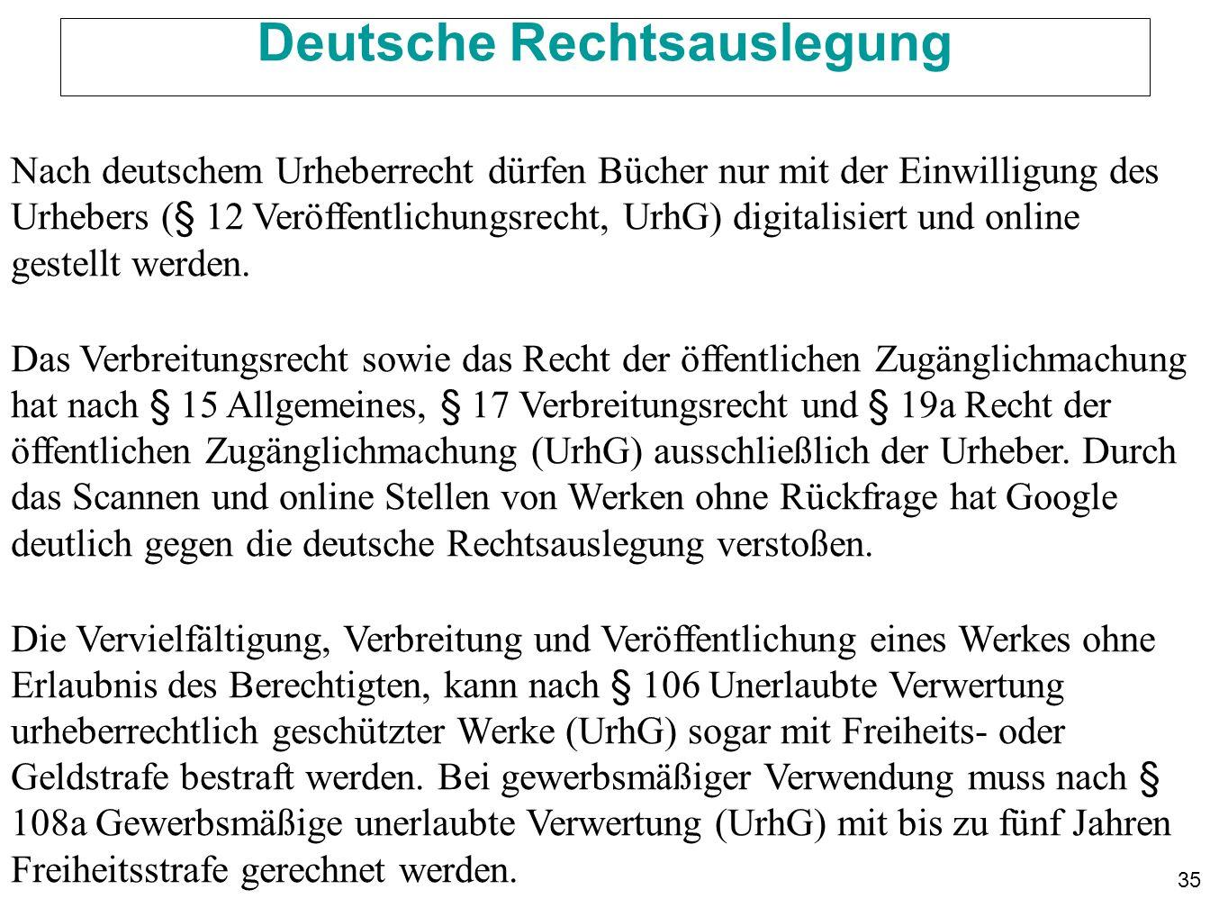 Deutsche Rechtsauslegung