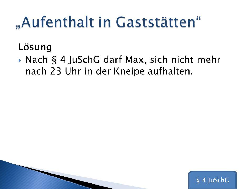"""""""Aufenthalt in Gaststätten"""