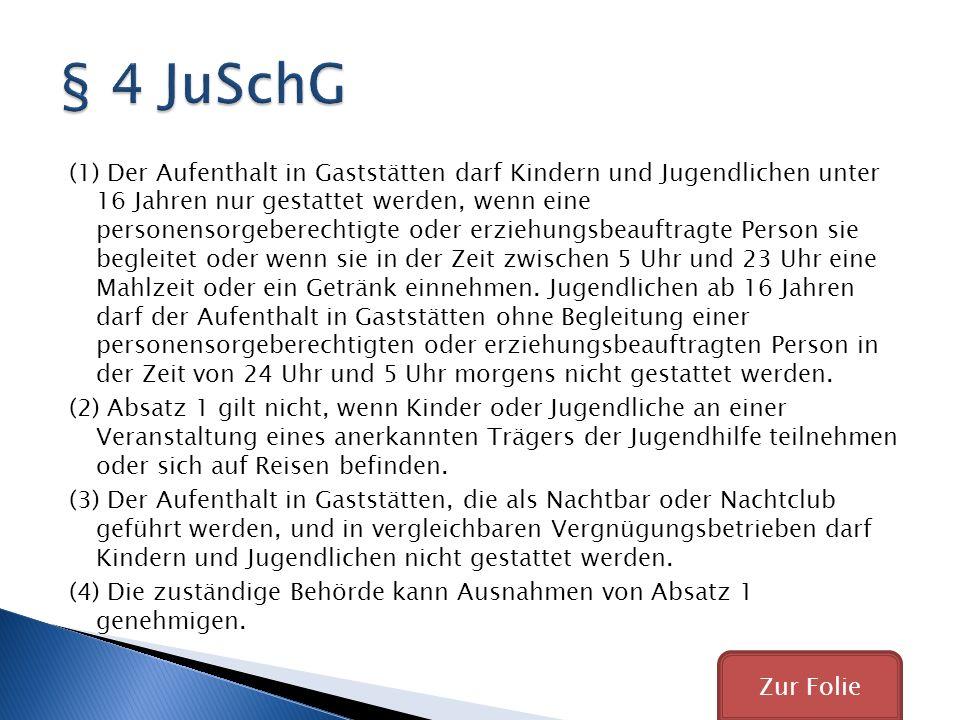 § 4 JuSchG