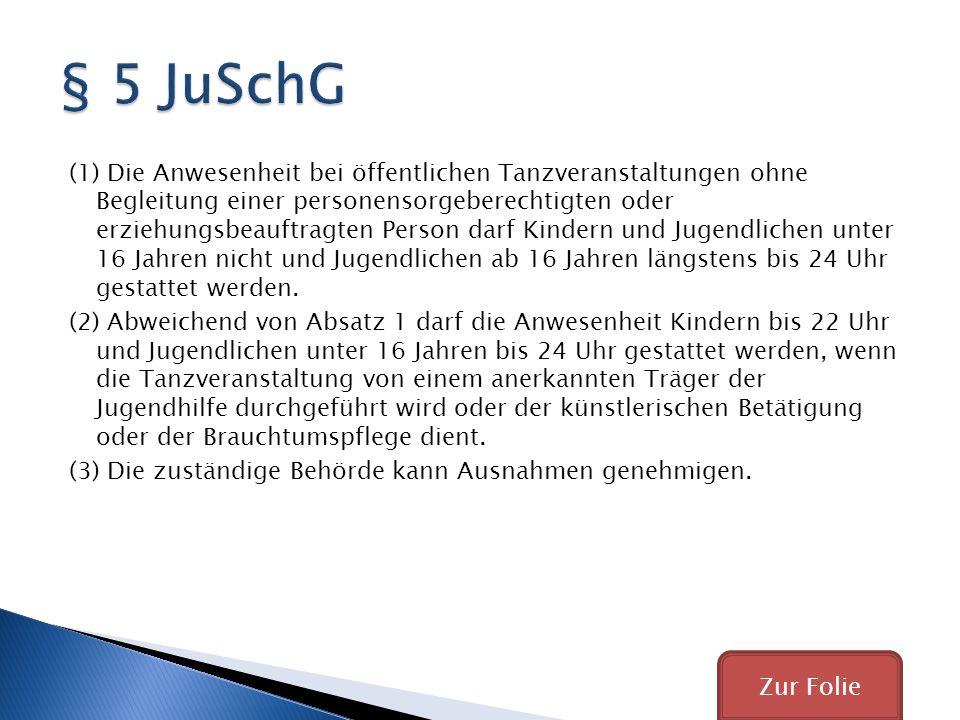 § 5 JuSchG