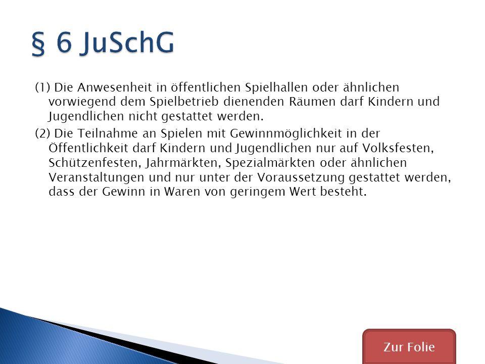 § 6 JuSchG