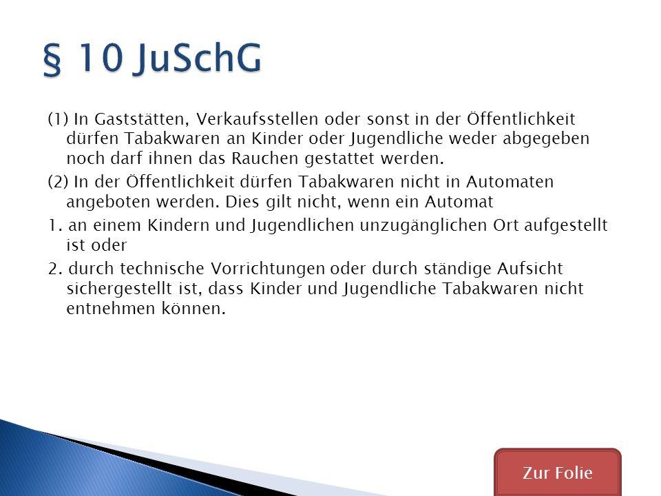 § 10 JuSchG