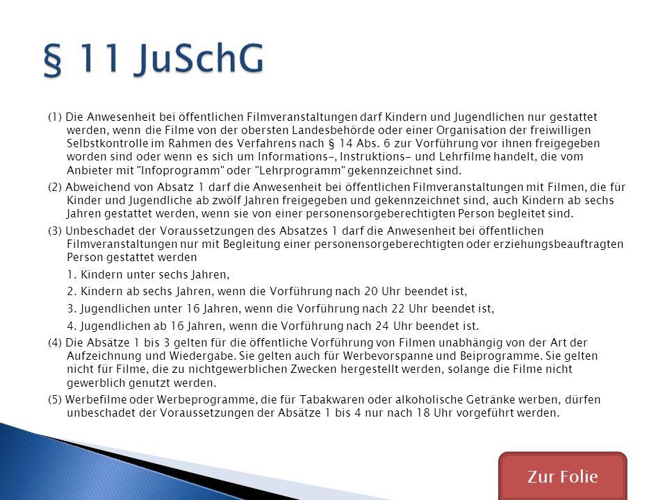 § 11 JuSchG