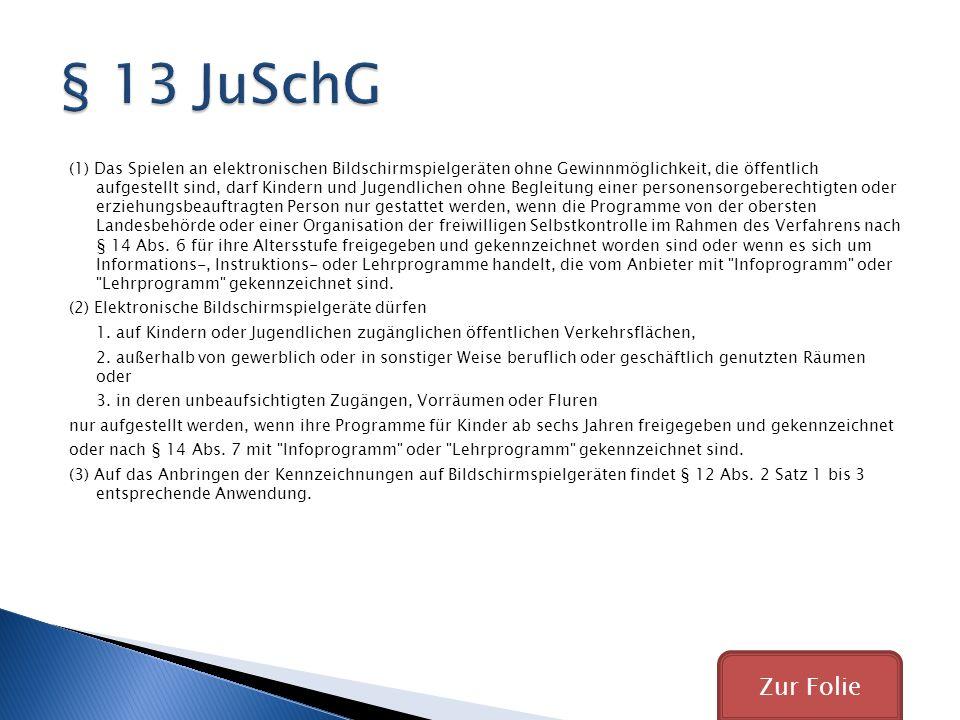 § 13 JuSchG