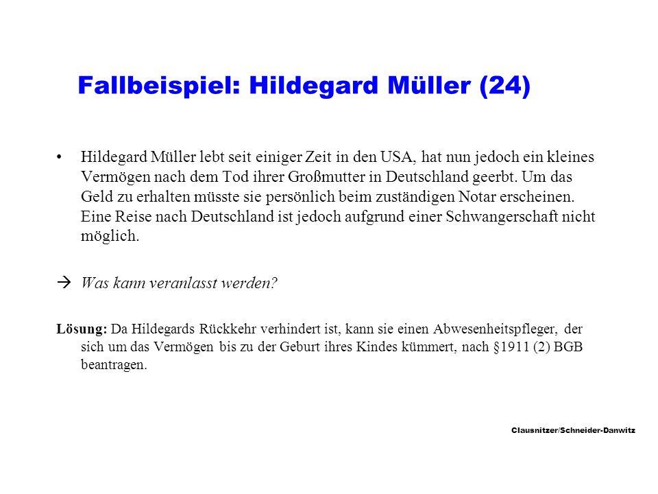 Fallbeispiel: Hildegard Müller (24)