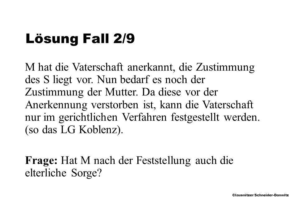 Lösung Fall 2/9