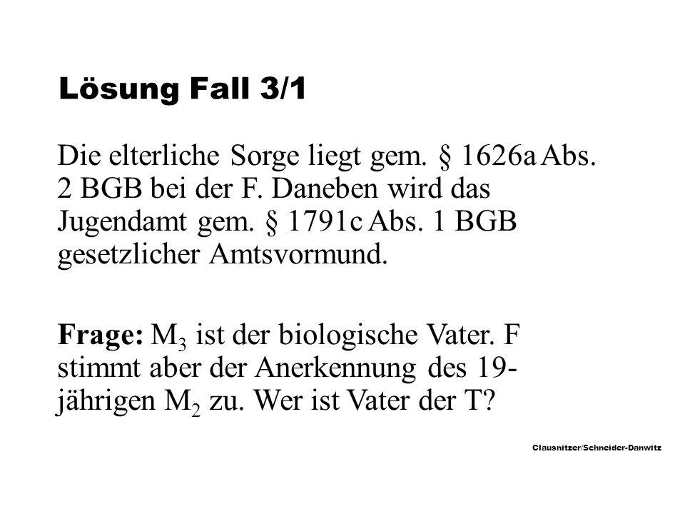 Lösung Fall 3/1